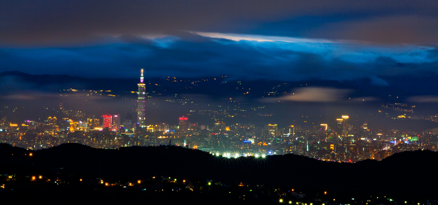 Top 5 Night View Spots from Yangmingshan