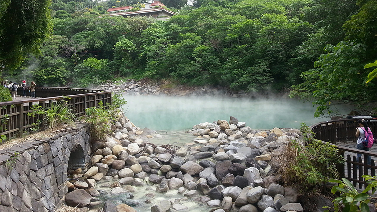 Beitou, the Best Taipei's Hot Springs Spot!