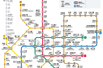 【Taipei Travel Guide】How To Take Taipei MRT 2020?