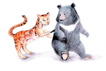 【About Taiwan】The Legend of Formosan Black Bear and Formosan Clouded Leopard